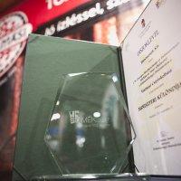 Miniszteri különdíjat kapott a Tóalmási Csípőskolbász